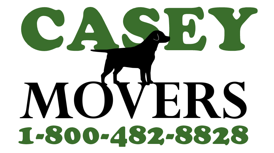 The Casey Movers Dog Logo